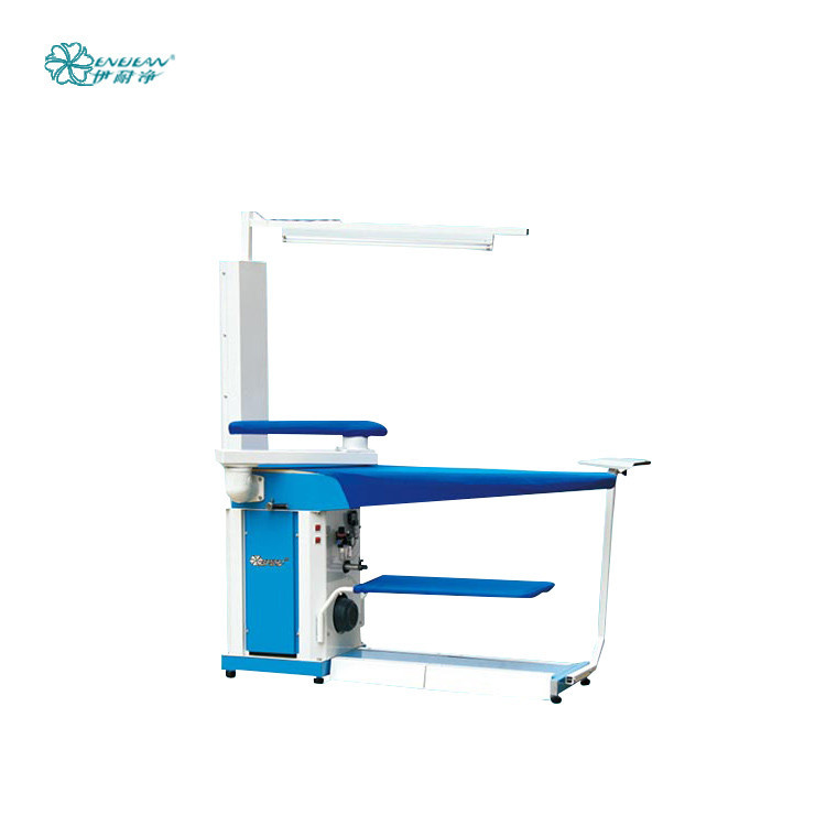 Enejean hotel industrial commercial laundry automatic clothes steam vacuum ironing table board machine price