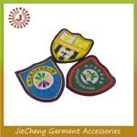 Nigeria customized Factory cheap price garment uniform clothing patches emblem students school logo woven badge
