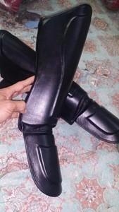 Shin Protection Guard Leather or PU