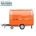 Chinese electric fast mobile food truck for sale fried chicken beer snack in australia mini mobile kitchen cart