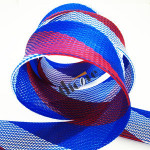 Factory PET expandable braided techflex cable sleeves for electrical wire