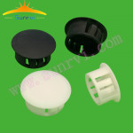 Hot sale in Dongguan  wiring accessories cable outlet nylon plastic hole plug 30MM