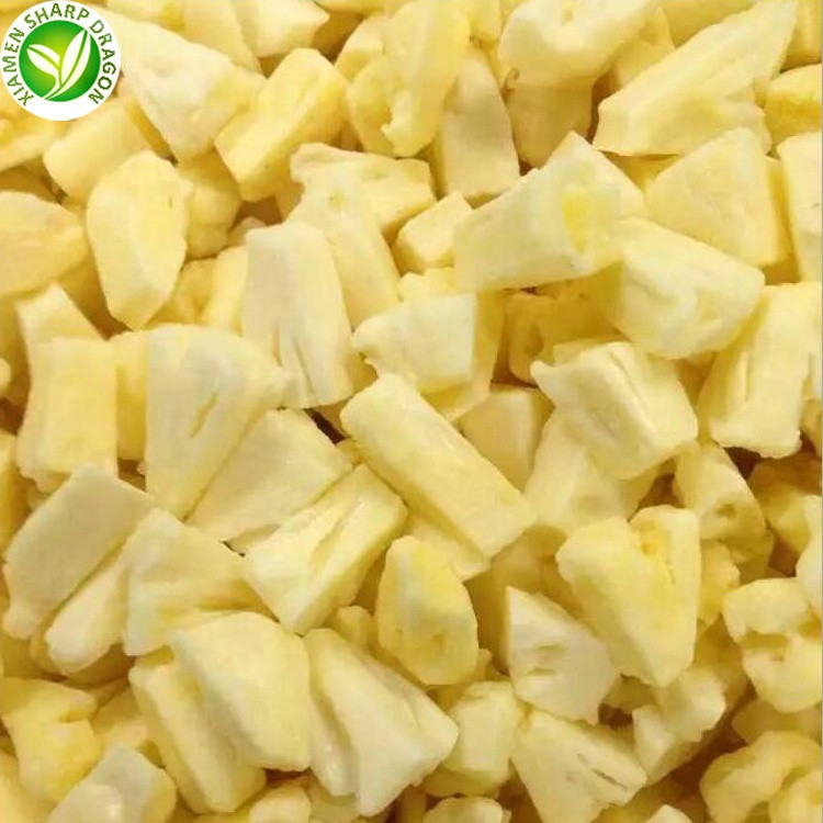 IQF wholesale best price frozen pineapple for diced