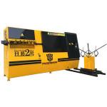 Schneider electric parts Develop No.2 iron bar bending machine , automatic stirrup bender machine