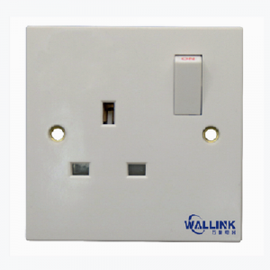 Wholesale single pole doulbe pole White Socket And Switch for Industrial