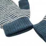 Winter kids magic mitten knitted mitten striped gloves