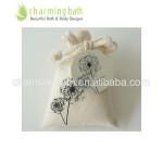 free sample organic bath salt in bag