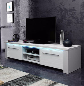 Import Living Room New Model Mdf Wood Led Tv Stand Design From China Find Fob Prices Tradewheel Com