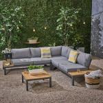 Outdoor patio water proof fabric Sofas, L Shaped Sleeper Rattan Garden corner lounge Sofa Sets Outdoor Furniture