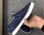Wholesale Casual jean canvas shoes men slip-on shoes in stock