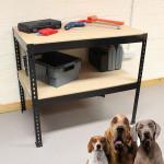 Heavy duty garage metal drawer woodworking bench plans