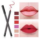 N08 Vegan lip pencil high quality best oem  private label brown lip liner custom logo