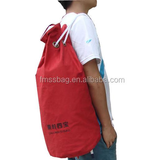 Promotional Sports Backpack Bag Wholesale Canvas Backpack Hiking Backpack