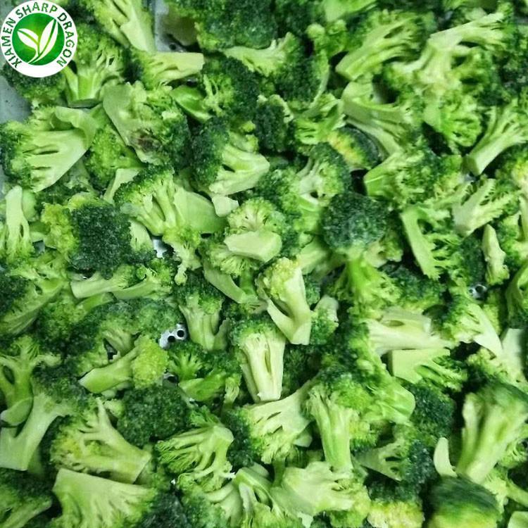 Wholesale Price Exporting Frozen Broccoli in Frozen Vegetables