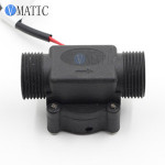 Free Shipping VC678-1 Black Plastic Electronic Hot Automatic Sensor Toilet Flush Valve Toilets Magnetic Water Flow Switch