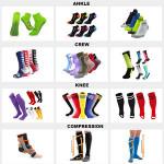 HJ-I-0089 coolmax sport toe socks