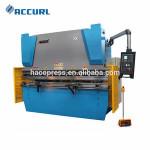 metal part press brake bending machine wrought iron
