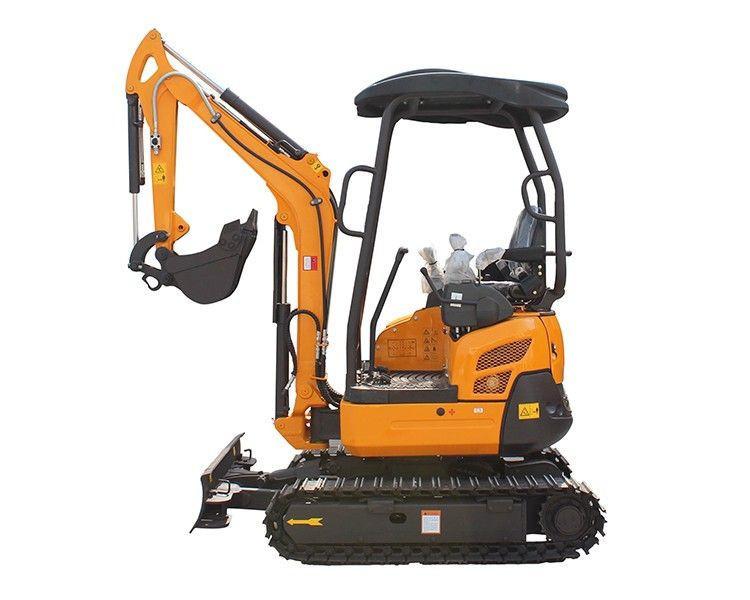 New 2 ton tailless mini excavator