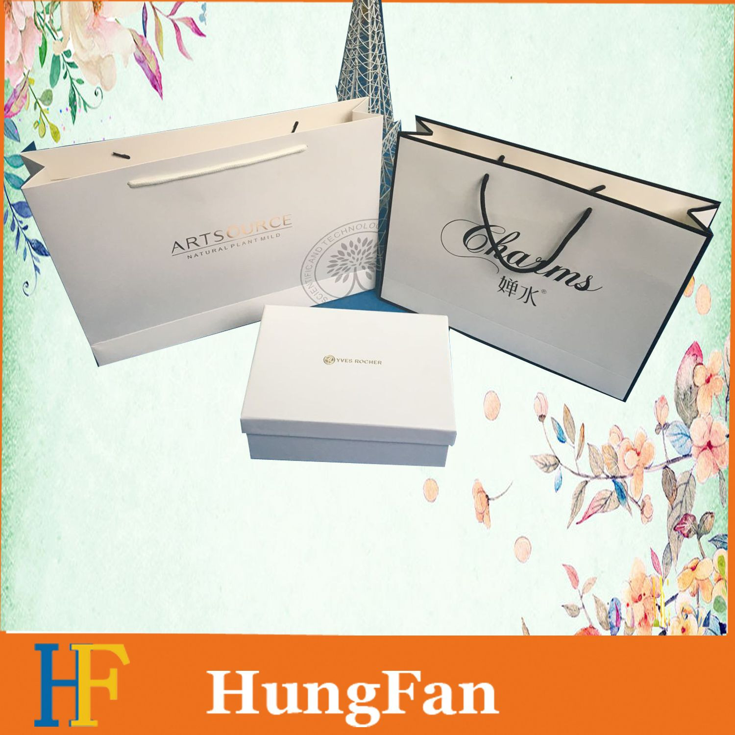 Customized Printed Paper Bags with Handle