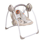 Doomilee Hanging Portable Electric Baby Swing Chair With Music