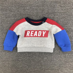 P0103 Baby Boys Sweatshirt With 3D Print For Children Autumn Or Spring Wear