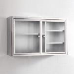 Modern Design Wall Hanging Silver Kitchen Cabinet Handle Stainless Steel Storage Kitchen Cabinet