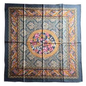 90*90cm silk twill scarf made to order from silk manufacturer
