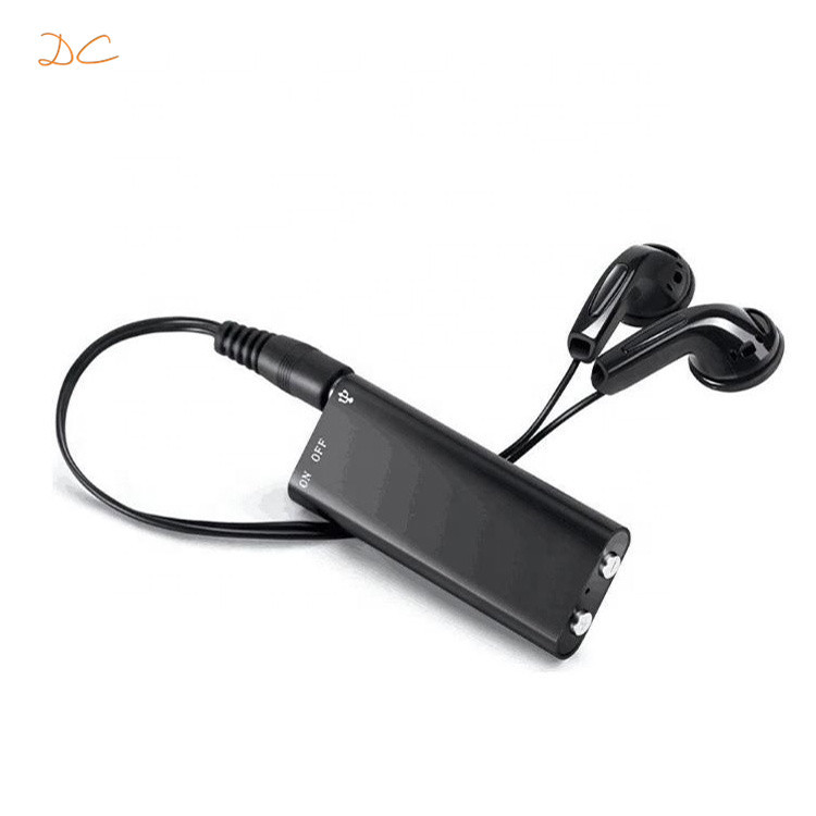 2200mAh rechargeable long standby time small size high sensitive digital voice recorder