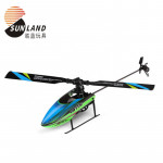 Amazon hot selling large single blade RC helicopter 4-channel single blade aileron free aircraft