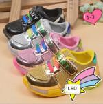 children running shoes LED light up shoes multicolor shoes