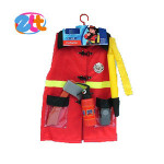 Cosplay toy wear fireman uniform clothing for kids