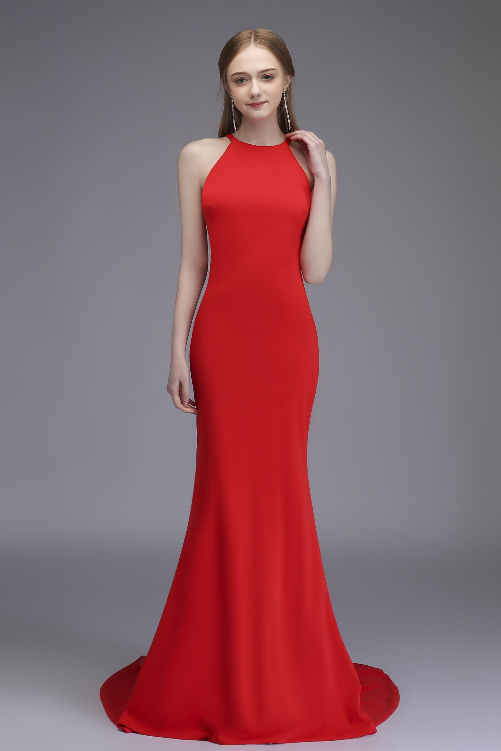 Red Gown Prom Dress