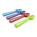 Colorful high quality melamine plastic ice cream scoop