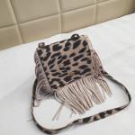 RTS 7 Colors Kids Leopard Tassel Coin Purse Messenger Bag Kid Girls Crossbody Handbag Children Fringe Shoulder Bag