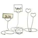 Table Top Wire Card Holder