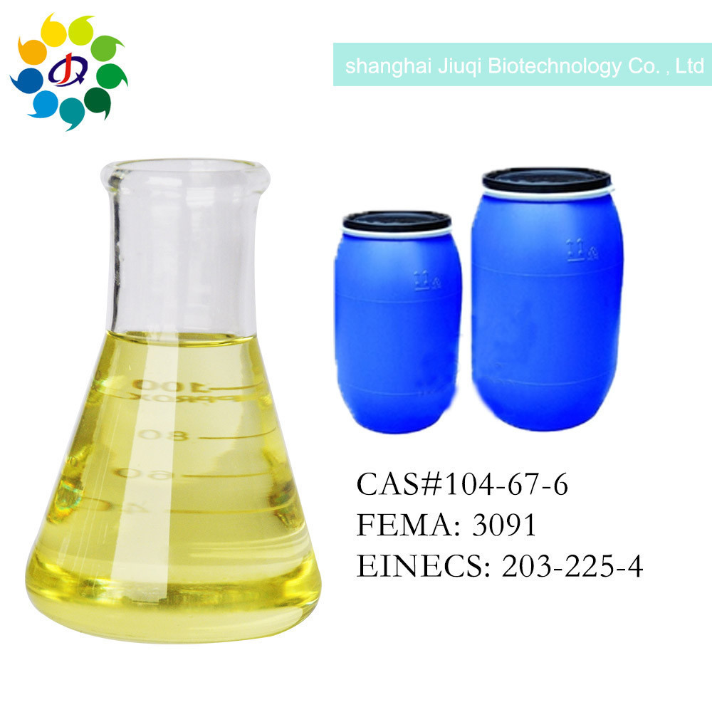China Factory High Quality 98%min CAS 104-67-6 Peach aldehyde with best price