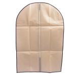 Excellent quality pp dustproof non woven folding travel clothes cover suit garment bag