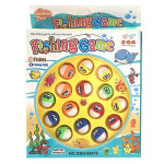 Kids Game Fishing Toys B/O Magnetic Fishing Funny Rod Toy With Little Fish
