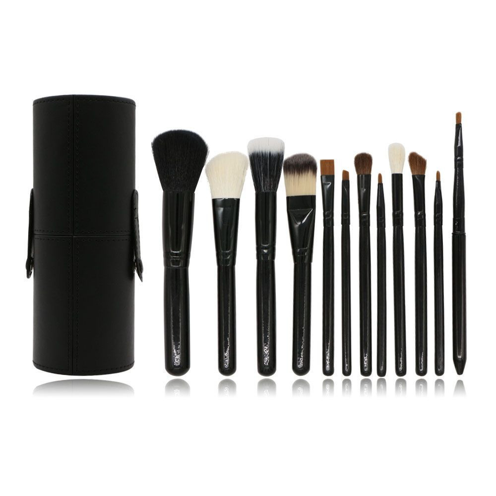 12PC  cosmetic brush with bulk