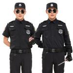 Custom Black Long And Short Sleeves Uniform Police Suit Security Uniform Military Uniforms