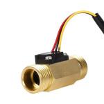 "G1/2"" G3/4"" Dn20mm Hall Effect Liquid Water Flow Switch Price Flow Switch Sensor Water Sensor Automatic Meter"
