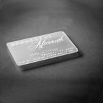 High quality customized design solid semi-transparent plastic cards