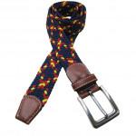 seat belt fashion design fabric belt men and women