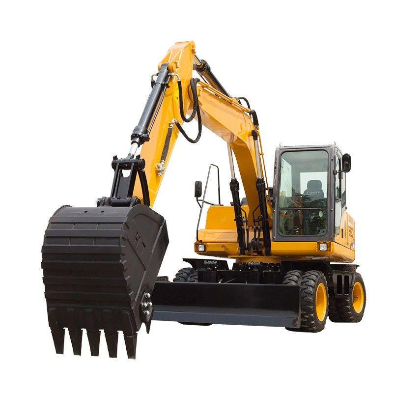 Swamp buggy wheeled excavator 7-18 ton