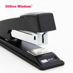 High Quality manual metal office stapler with custom logo print basic style medium sized desktop paper stapler