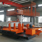 Low Price Of Horizontal Type Lightweight Wall Panel Machine Grc Production Line Hollow Wall Panel Forming Equipment