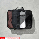 Custom High Quality 5 Set Compression Travel Packing Cubes Luggage