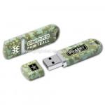 F204 Custom logo lighter plastic shaped USB Flash drives with led light for promotional event