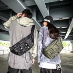 Multi-function Messenger Shoulder Travel Sling Bag Men Women's Leisure Sport Shoulder  Vintage Messenger Bag