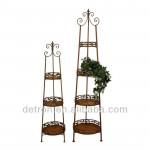 New-style flower pot metal stand flower floor display rack